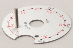 8060087SP FRYMASTER DIAL PLATE MJ35