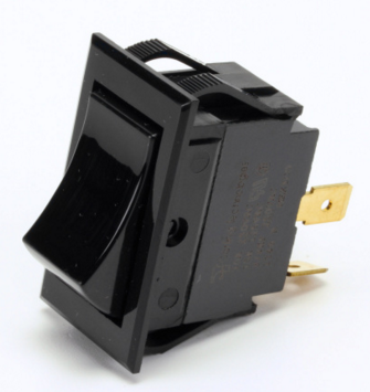 1177541 SOUTHBEND RANGE, SWITCH, BLACK SMOOTHED(POWER)