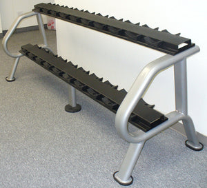 Malibu Two Tier Dumbbell Rack