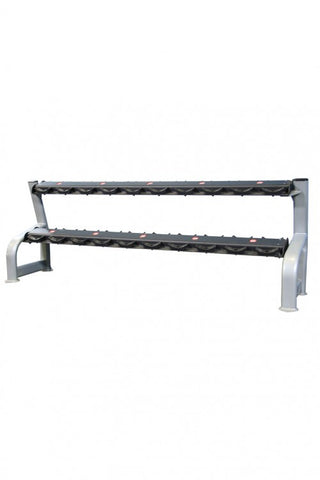 Malibu Gym Two Tier Dumbbell Rack