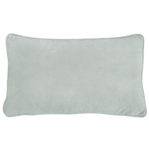 Mirage Haven AGERY Fog Blue Plain Velvet Cushion Cover 30 cm by 50 cm