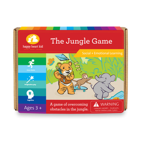 The Jungle Game - Happy Heart Kid