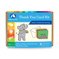 Thank you Card Kit - Happy Heart Kid