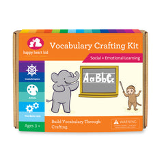 Vocabulary Crafting Kit - Happy Heart Kid