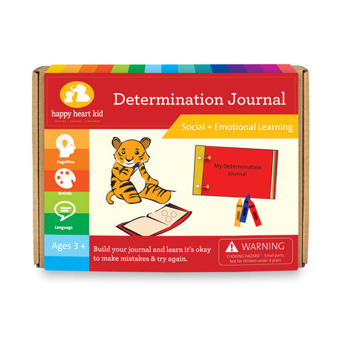 Determination Journal - Happy Heart Kid
