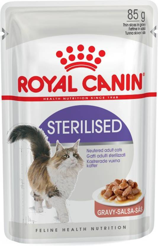 Royal Canin Sterilised 1.02 kg (12x0.09 kg) Wet Cat Food - Pet Chum