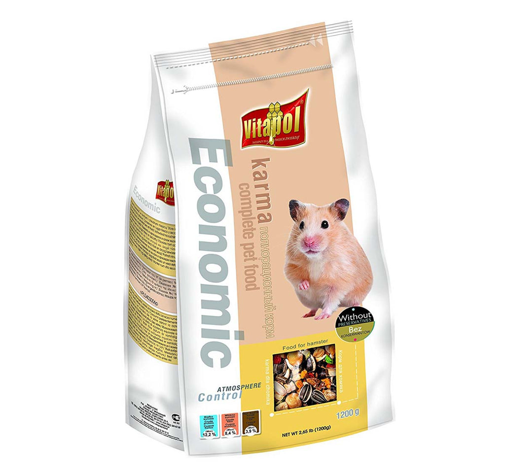 Economic Food for HAMSTERS - 1.2kg - Pet Chum