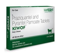 Savavet Kiwof Cat Deworming Tablets - Pet Chum