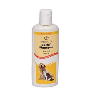 Bayer Bolfo Anti Tick and Flea Shampoo for Dogs and Cats 200 ml - Pet Chum