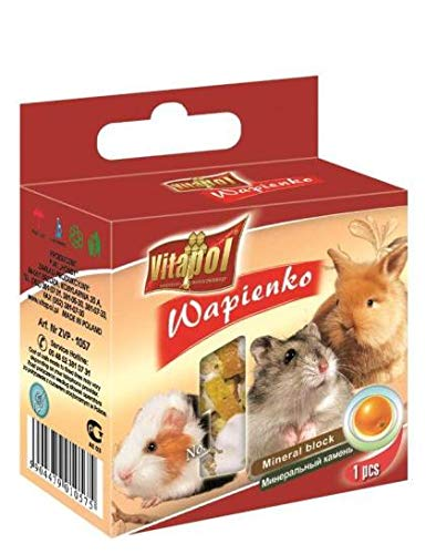 Mineral Block for RODENTS - ORANGE 40g - Pet Chum