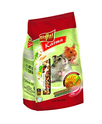 Food for HAMSTERS - 400 gms - Pet Chum