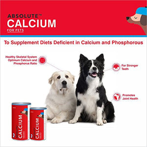 Drools Absolute Calcium Biscuit- Dog Supplement, 800g - Pet Chum