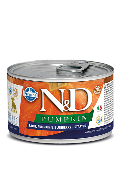 FARMINA LAMB, PUMPKIN & BLUEBERRY - STARTER MINI WET FOOD - Pet Chum