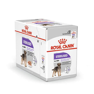 Royal Canin Sterilised Care Loaf Dog Wet Pouches 85 GMS (Pack of 12) - Pet Chum
