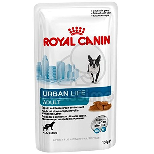 Royal Canin Chunks in Gravy Urban Life Adult Canine Wet Pouches (150 gm) - Pack of 10 - Pet Chum