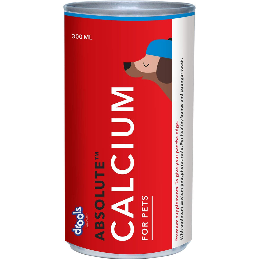 Drools Absolute Calcium Syrup- Dog Supplement - Pet Chum