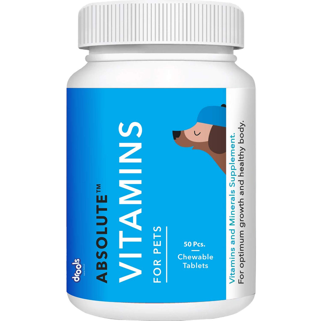 Drools Absolute Vitamin Tablet- Dog Supplement - Pet Chum