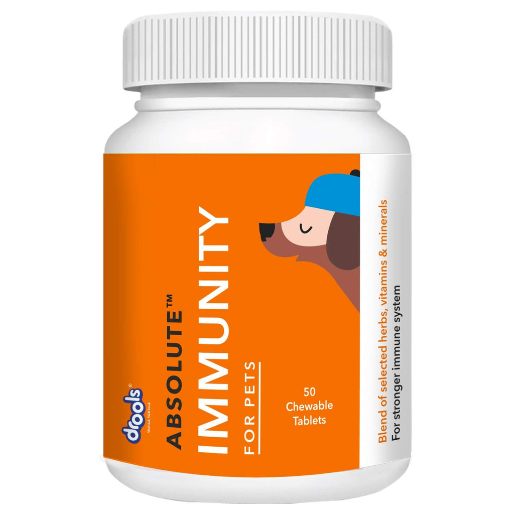 Drools Absolute Immunity Tablet - Dog Supplement - Pet Chum