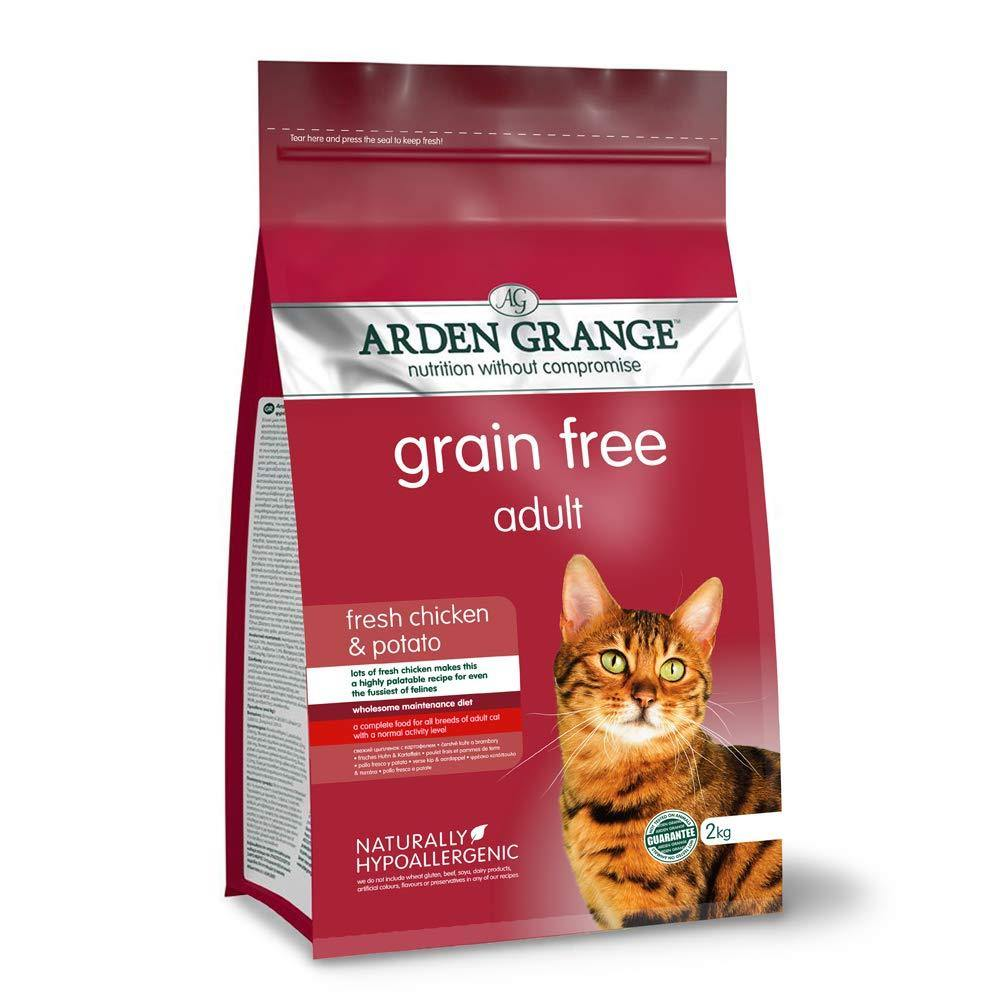Arden Grange Chicken and Potato Grain Free Adult Cat Food