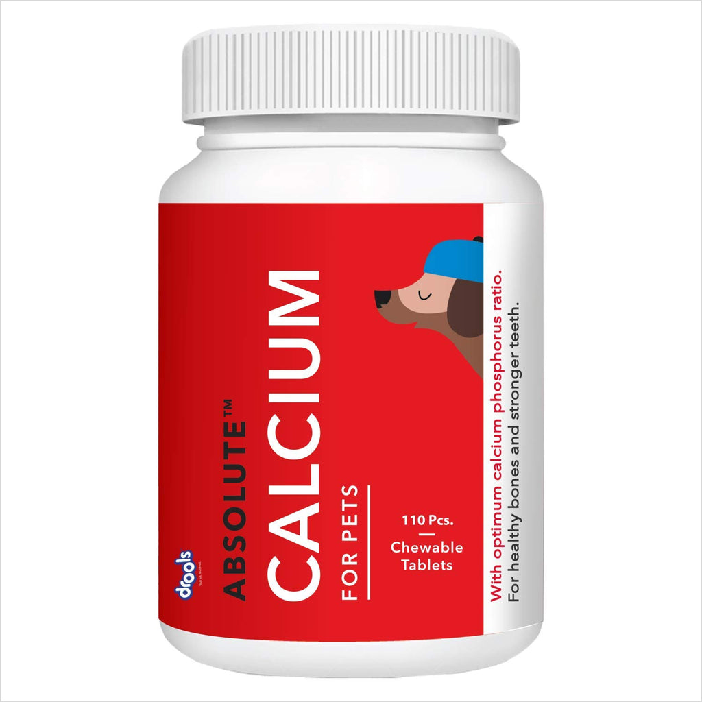 Drools Absolute Calcium Tablet- Dog Supplement - Pet Chum