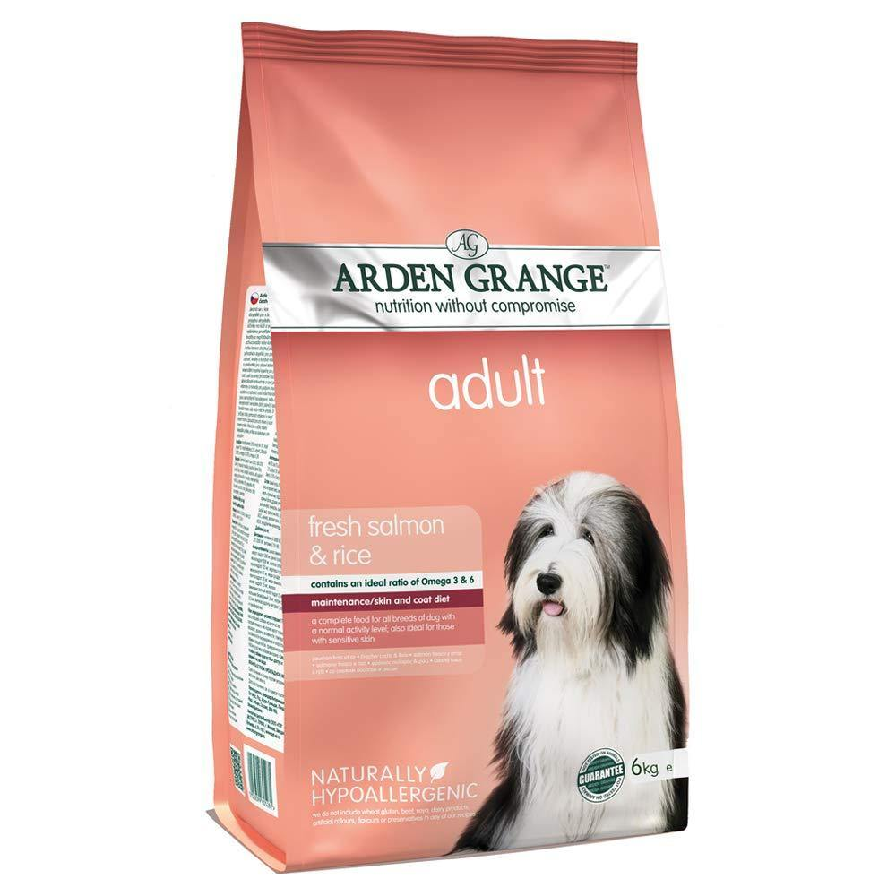 Arden Grange With Fresh Salmon & Rice Food For Adult Dogs - Pet Chum