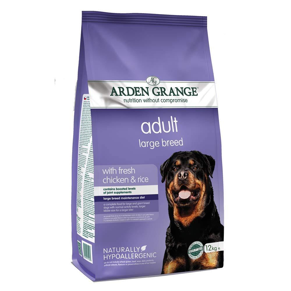 Arden Grange Dog Food Adult for Large & Giant Breeds with Fresh Chicken & Rice - Pet Chum