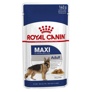 Royal Canin Dog Wet Food, Maxi Breed Adult Dog Gravy - Pet Chum