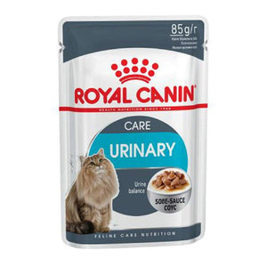 Royal Canin Urinary Care Wet Cat Food Gravy Salsa Pouches 12 x 85 GMS - Pet Chum