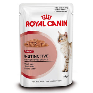 Royal Canin Instinctive Cat Wet Food Loaf Flavor 85 gm Pouches (Pack of 12) - Pet Chum