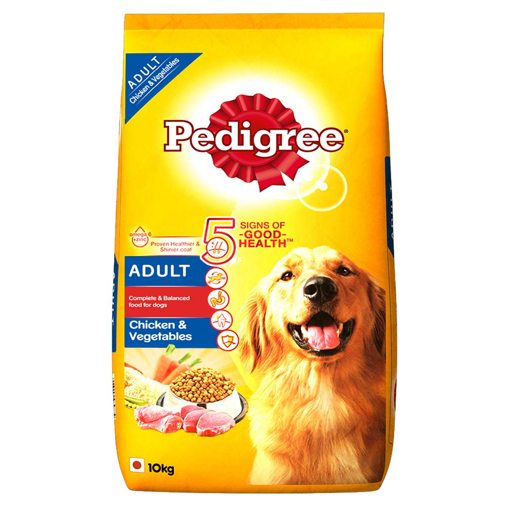 Pedigree Adult Dry Dog Food, Chicken & Vegetables - Pet Chum