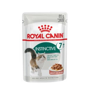 Royal Canin Instinctive +7 in Gravy Cat Food 12 x 85g - Pet Chum
