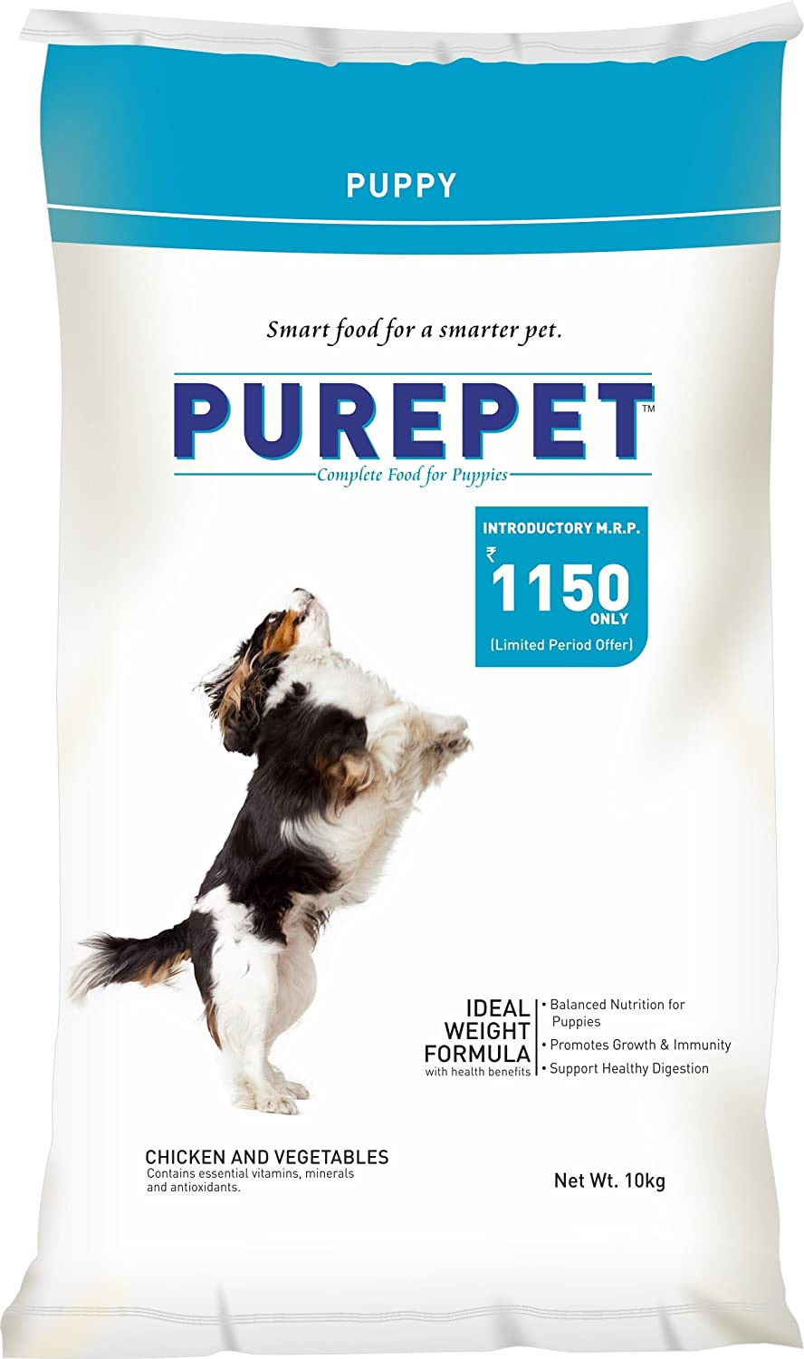 Purepet Chicken & Vegetables Puppy Dog Food - Pet Chum