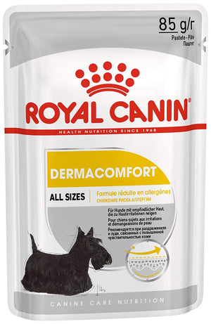 Royal Canin Dermacomfort loaf Pouch Pack of 12 - Pet Chum