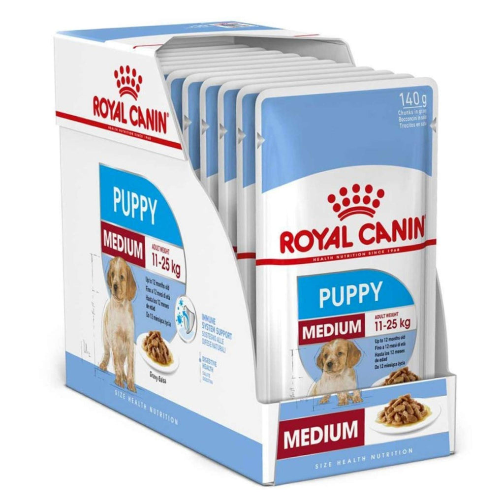Royal Canin Medium Puppy Dog Food,85G * 12 pouches - Pet Chum