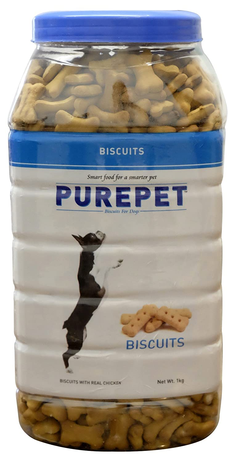PurePet Milk Flavour, Real Chicken Biscuit - Pet Chum