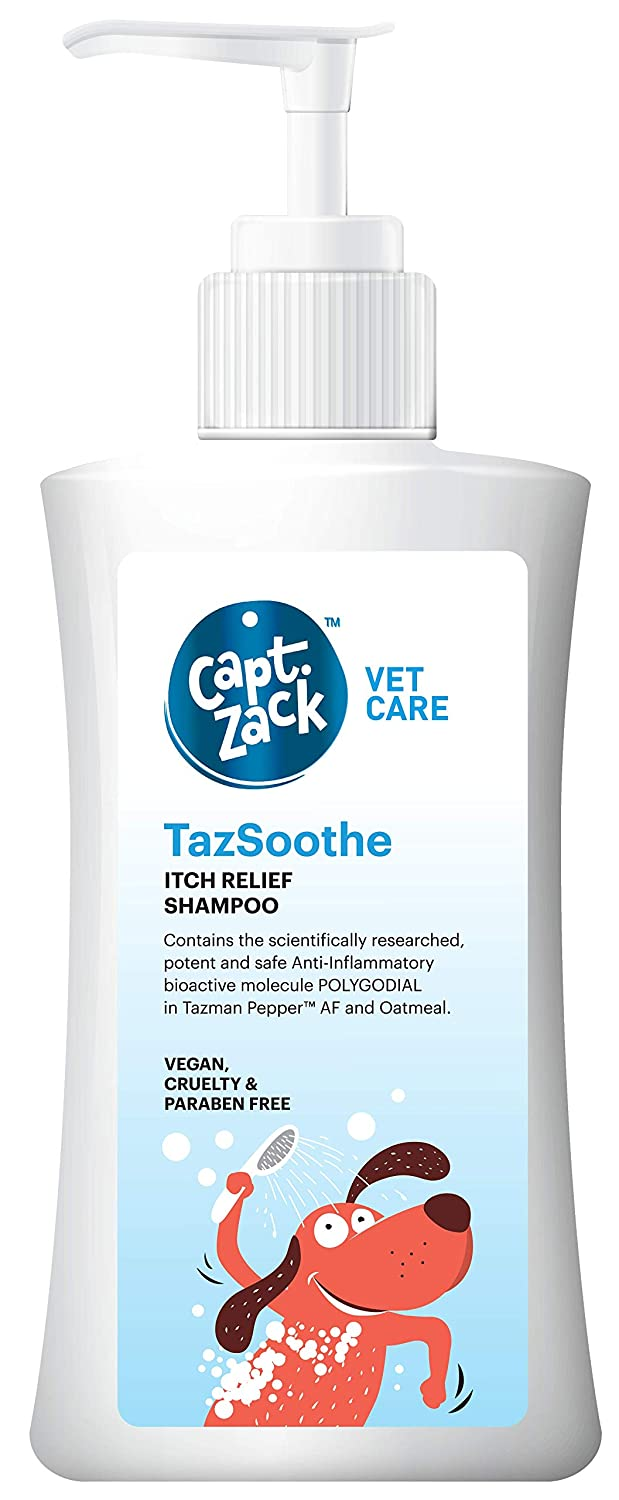 Captain Zack TazSoothe Itch Relief Shampoo | 500 ml - Pet Chum