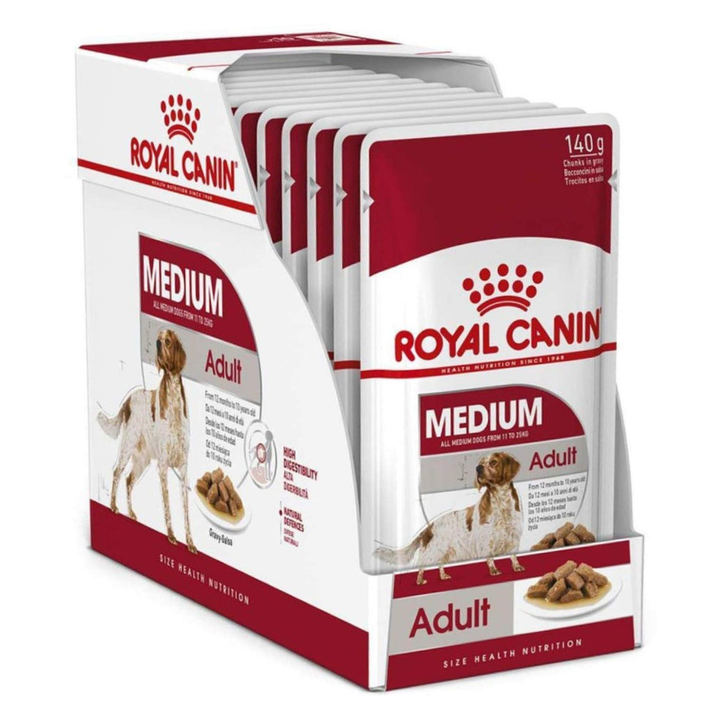 Royal Canin Medium Breed Adult Dog Gravy Wet Food - Pet Chum