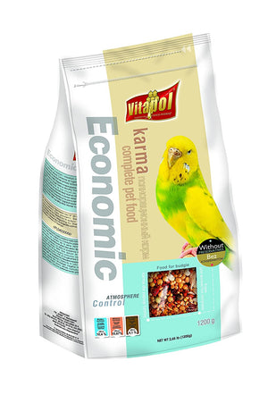 Economic Food for BUDGIE 1.2kg - Pet Chum