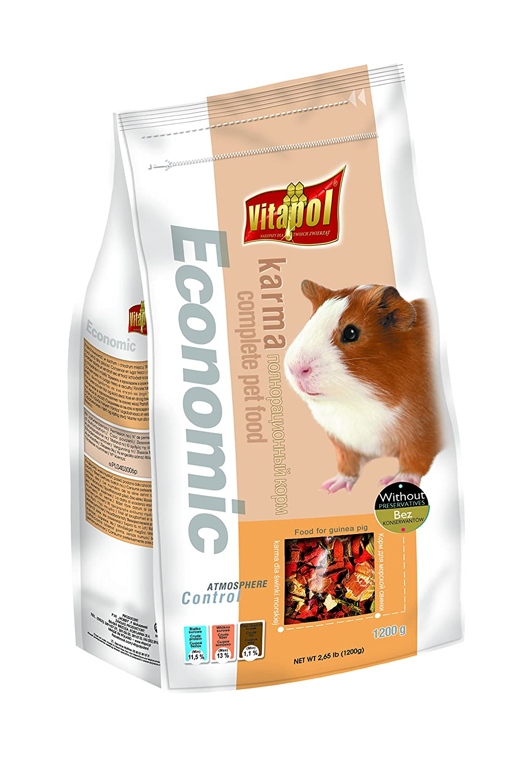Economic Food for GUINEA PIG - 1.2kg - Pet Chum