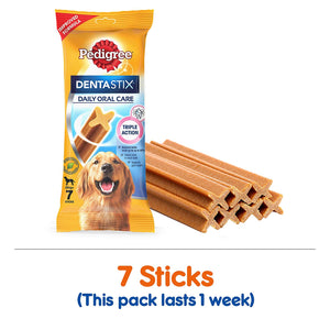 Pedigree Dentastix Oral Care for Small, Medium & Large Breed - Pet Chum