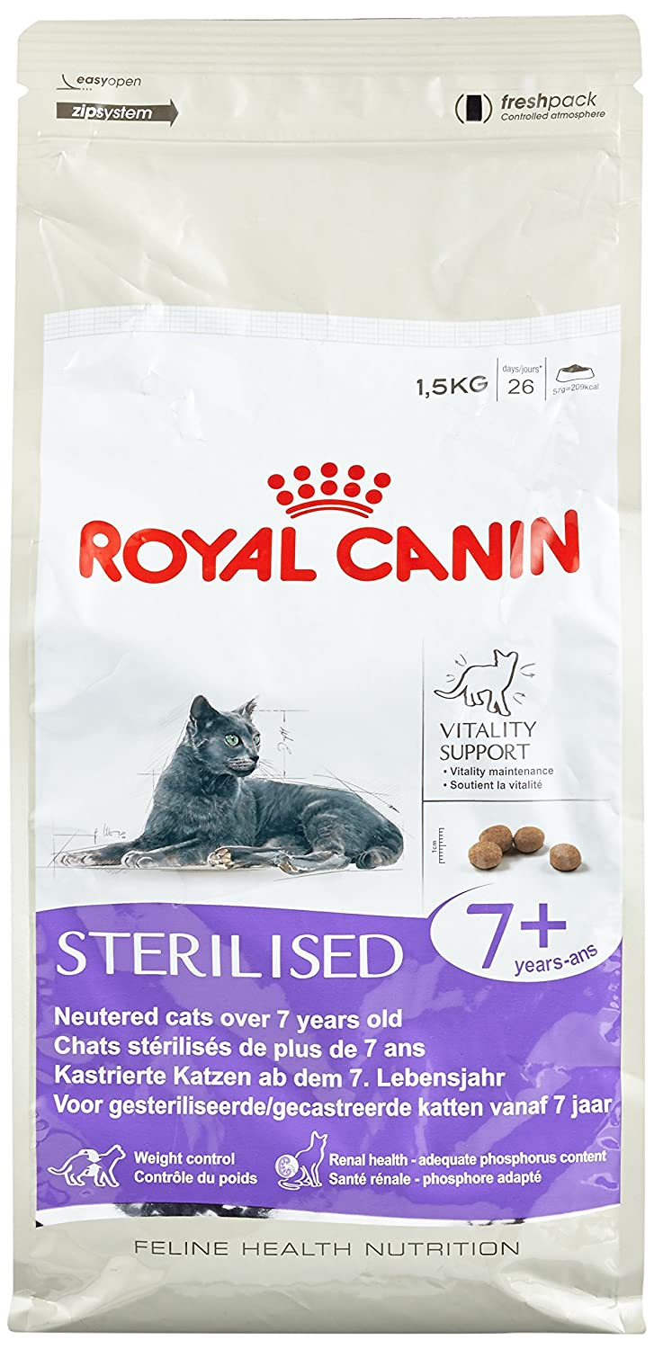 Royal Canin Sterlilised 7+ Cat Food - Pet Chum