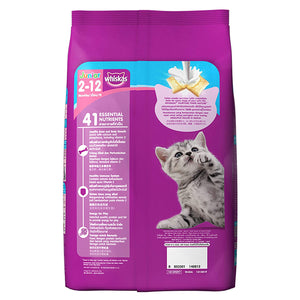 Whiskas Kitten (2-12 months) Dry Cat Food, Ocean Fish - Pet Chum