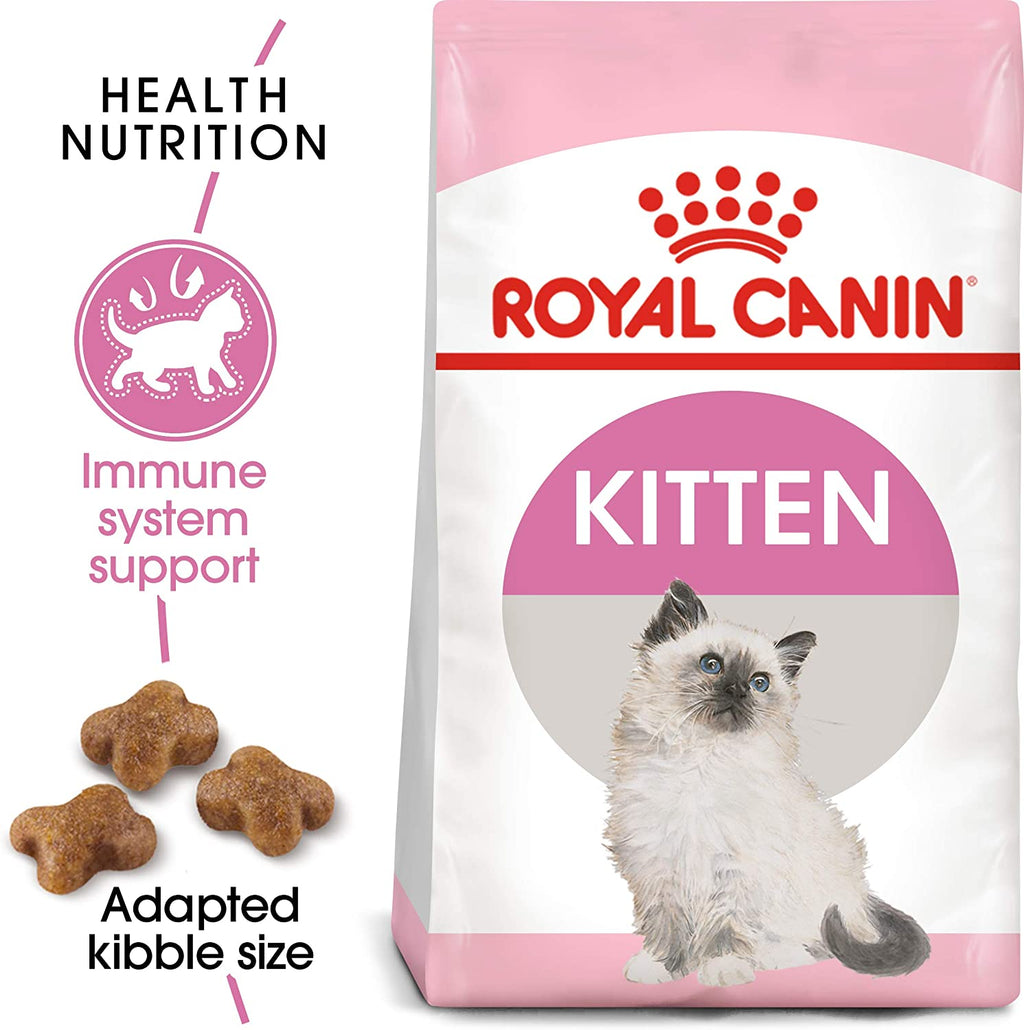 Royal Canin Feline Health Nutrition Kitten Dry Cat Food - Pet Chum