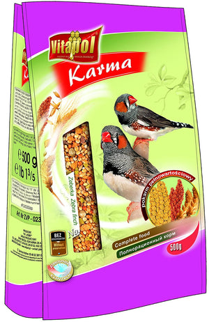 Food for ZEBRA FINCH 500gms - Pet Chum