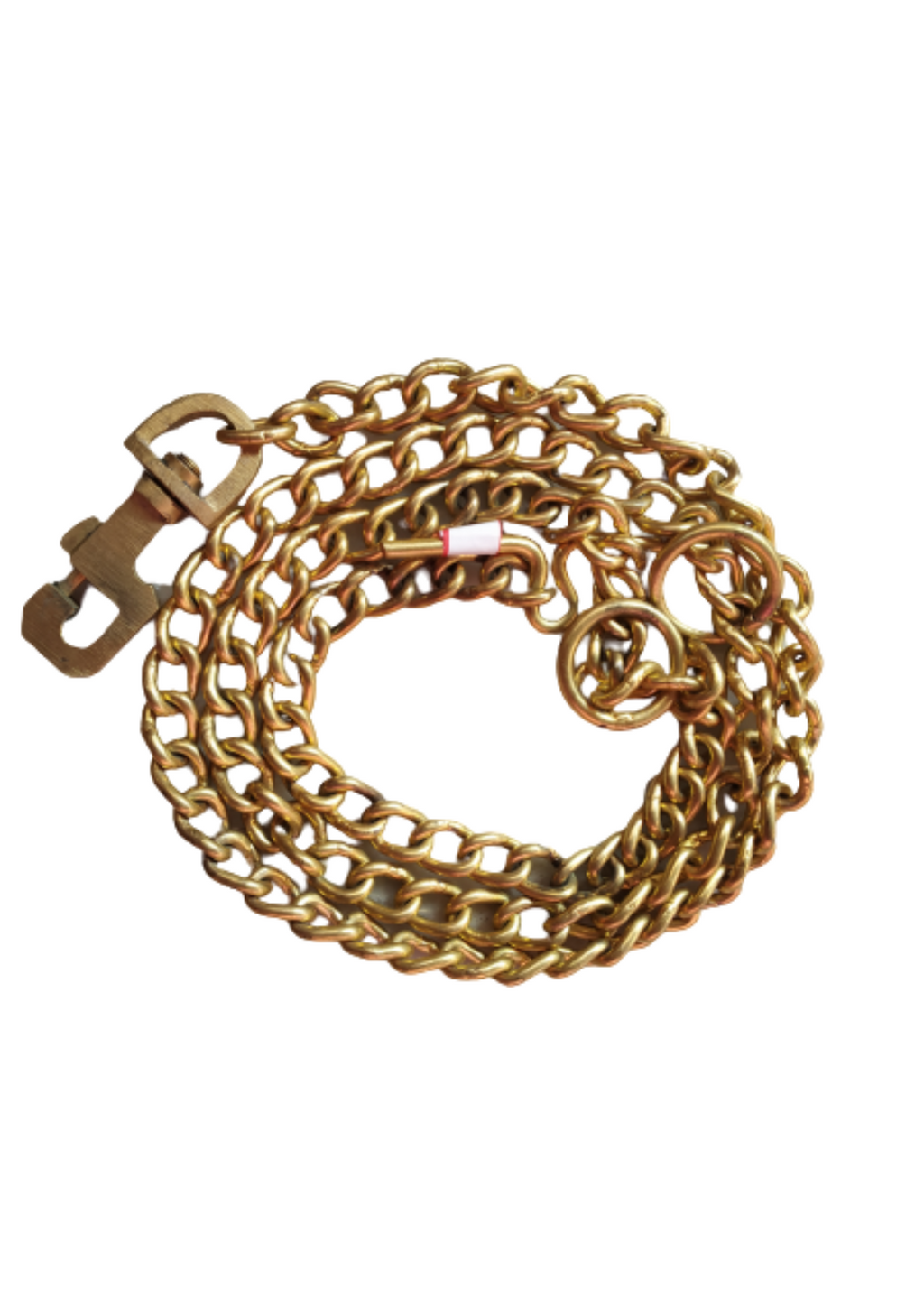 Super Heavy Weight Dog Brass Leash for Giant & Large Breeds