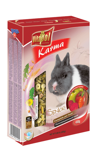 Food for RABBIT - 400gms - Pet Chum