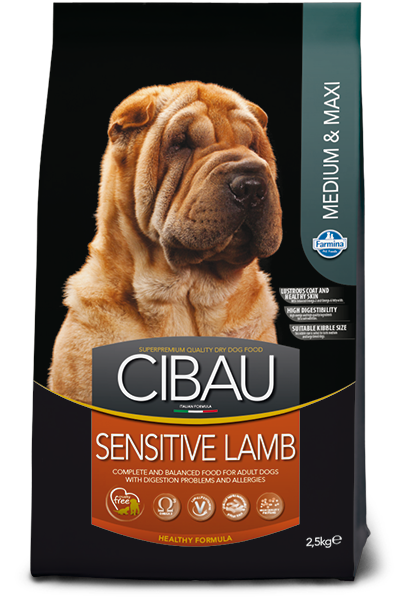 FARMINA SENSITIVE LAMB MEDIUM & MAXI - Pet Chum