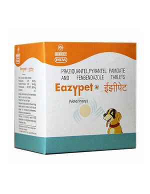 Intas Eazypet Dewormers For Dog - Pet Chum