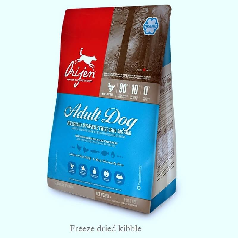 Orijen Freeze Dried Adult dog food & treat - Pet Chum