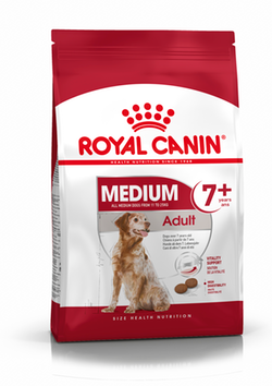 Royal Canin Medium Adult 7+, 4kg - Pet Chum